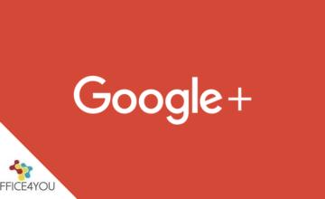 Η Google διακόπτει τη πλατφόρμα Google+